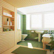 Jak dbać o drewnianą podłogę w łazience?