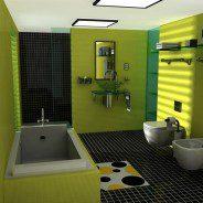 Jakie kolory zastosować w małej łazience?